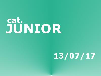 "Calendario gare ""Junior"" – giovedì 13"